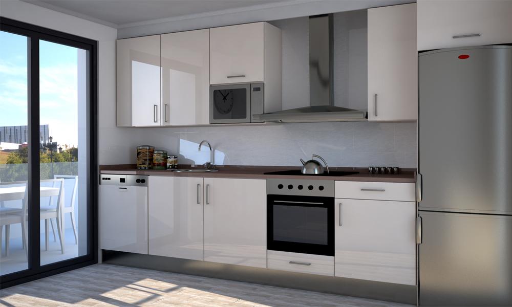 Equipamiento de cocinas im genes finales adecursos for Muebles de cocina para microondas