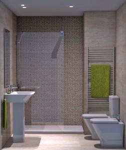 Cer micas saloni otras propuestas adecursos - Combinacion de azulejos para banos pequenos ...