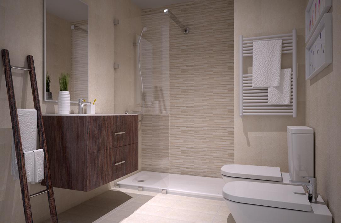 Azulejos Baño Saloni:Edificio Lúmina » Cerámica de baños, modelo GARD de SALONI