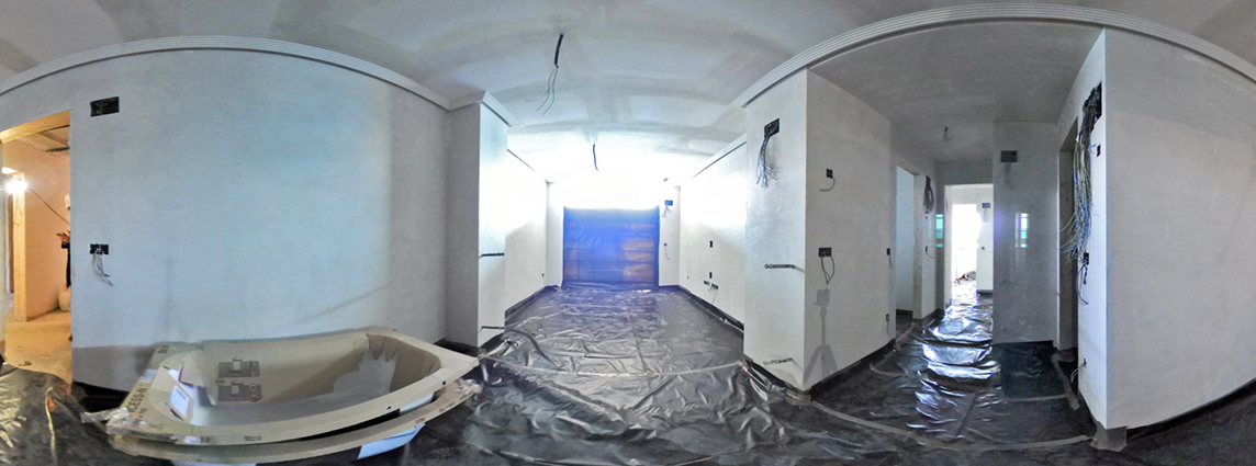 Imágenes planta cuarta, tour virtual, Edificio Lúmina – ADECURSOS