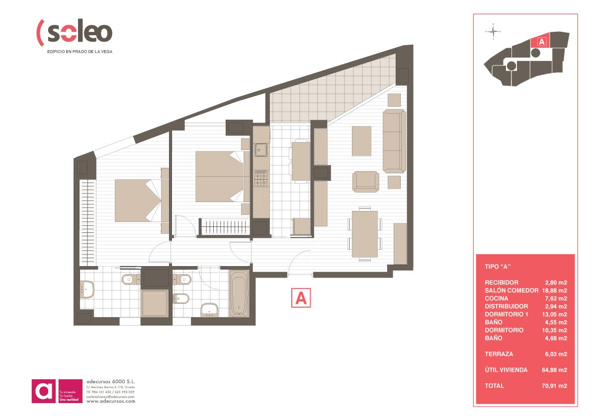 Edificio soleo planos comerciales adecursos for Planos de cocina salon